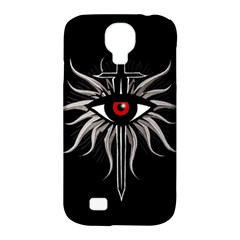 Inquisition Symbol Samsung Galaxy S4 Classic Hardshell Case (pc+silicone) by Valentinaart