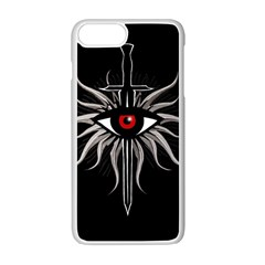 Inquisition Symbol Apple Iphone 7 Plus White Seamless Case by Valentinaart
