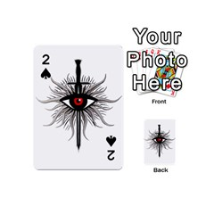 Inquisition Symbol Playing Cards 54 (mini)  by Valentinaart