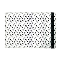 Fish Bones Pattern Apple Ipad Mini Flip Case by Valentinaart
