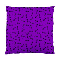 Fish Bones Pattern Standard Cushion Case (two Sides) by ValentinaDesign