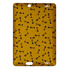 Fish Bones Pattern Amazon Kindle Fire Hd (2013) Hardshell Case by ValentinaDesign
