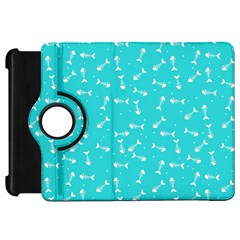 Fish Bones Pattern Kindle Fire Hd 7  by ValentinaDesign