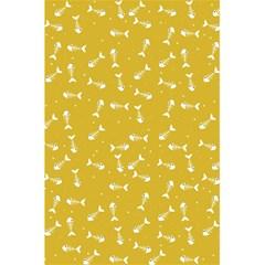 Fish Bones Pattern 5 5  X 8 5  Notebooks by ValentinaDesign