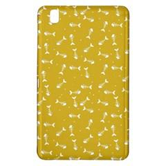 Fish Bones Pattern Samsung Galaxy Tab Pro 8 4 Hardshell Case by ValentinaDesign