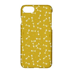 Fish Bones Pattern Apple Iphone 7 Hardshell Case by ValentinaDesign