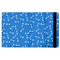 Fish Bones Pattern Apple Ipad Pro 9 7   Flip Case by ValentinaDesign