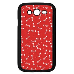 Fish Bones Pattern Samsung Galaxy Grand Duos I9082 Case (black) by ValentinaDesign