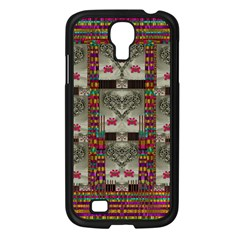 Wings Of Love In Peace And Freedom Samsung Galaxy S4 I9500/ I9505 Case (black) by pepitasart