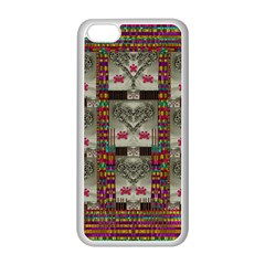 Wings Of Love In Peace And Freedom Apple Iphone 5c Seamless Case (white) by pepitasart