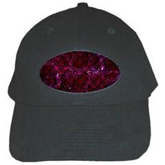 Scales2 Black Marble & Burgundy Marble (r) Black Cap by trendistuff