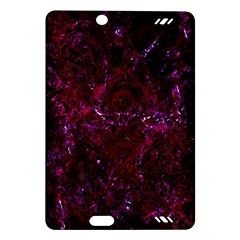 Damask1 Black Marble & Burgundy Marble (r) Amazon Kindle Fire Hd (2013) Hardshell Case by trendistuff