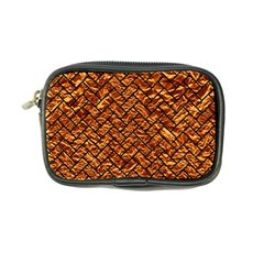 Brick2 Black Marble & Copper Foil (r) Coin Purse by trendistuff