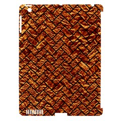 Brick2 Black Marble & Copper Foil (r) Apple Ipad 3/4 Hardshell Case (compatible With Smart Cover) by trendistuff