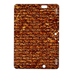 Brick1 Black Marble & Copper Foil (r) Kindle Fire Hdx 8 9  Hardshell Case by trendistuff