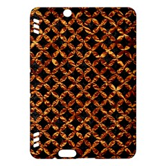 Circle3 Black Marble & Copper Foilper Foil Kindle Fire Hdx Hardshell Case by trendistuff