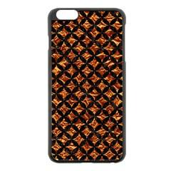 Circles3 Black Marble & Copper Foil (r) Apple Iphone 6 Plus/6s Plus Black Enamel Case by trendistuff