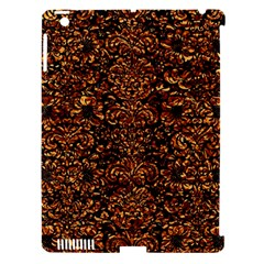 Damask2 Black Marble & Copper Foil Apple Ipad 3/4 Hardshell Case (compatible With Smart Cover) by trendistuff