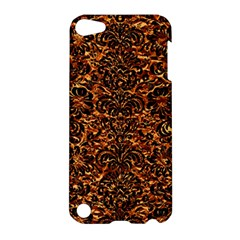 Damask2 Black Marble & Copper Foil (r)2 Black Marble & Copper Foil (r) Apple Ipod Touch 5 Hardshell Case by trendistuff
