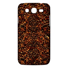 Damask2 Black Marble & Copper Foil (r)2 Black Marble & Copper Foil (r) Samsung Galaxy Mega 5 8 I9152 Hardshell Case  by trendistuff