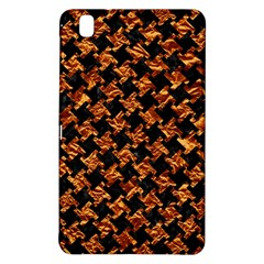 Houndstooth2 Black Marble & Copper Foil Samsung Galaxy Tab Pro 8 4 Hardshell Case by trendistuff