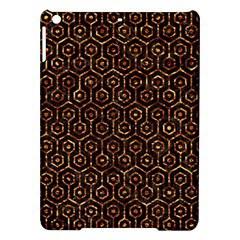 Hexagon1 Black Marble & Copper Foil Ipad Air Hardshell Cases by trendistuff