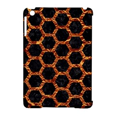 Hexagon2 Black Marble & Copper Foilmarble & Copper Foil Apple Ipad Mini Hardshell Case (compatible With Smart Cover) by trendistuff