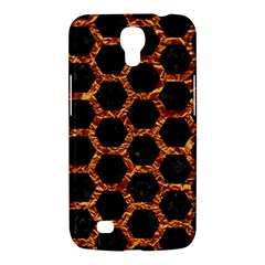 Hexagon2 Black Marble & Copper Foilmarble & Copper Foil Samsung Galaxy Mega 6 3  I9200 Hardshell Case by trendistuff