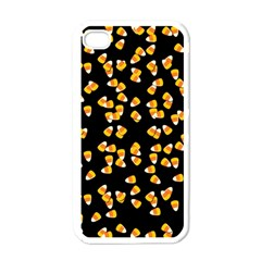Candy Corn Apple Iphone 4 Case (white) by Valentinaart