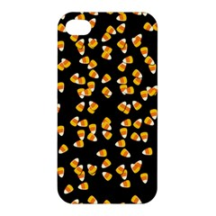 Candy Corn Apple Iphone 4/4s Premium Hardshell Case by Valentinaart