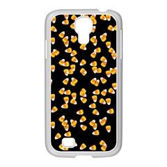 Candy Corn Samsung Galaxy S4 I9500/ I9505 Case (white) by Valentinaart