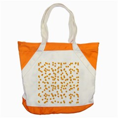 Candy Corn Accent Tote Bag by Valentinaart