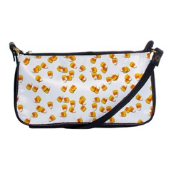 Candy Corn Shoulder Clutch Bags by Valentinaart