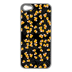 Candy Corn Apple Iphone 5 Case (silver) by Valentinaart
