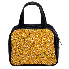 Candy Corn Classic Handbags (2 Sides) by Valentinaart