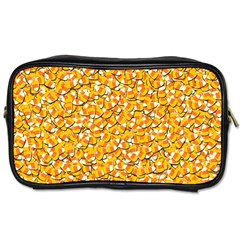 Candy Corn Toiletries Bags 2 Side by Valentinaart