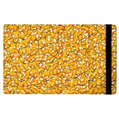 Candy Corn Apple Ipad 3/4 Flip Case by Valentinaart