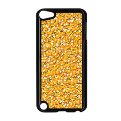 Candy Corn Apple Ipod Touch 5 Case (black) by Valentinaart