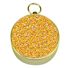 Candy Corn Gold Compasses by Valentinaart