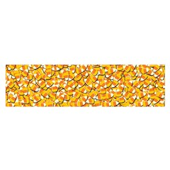 Candy Corn Satin Scarf (oblong) by Valentinaart