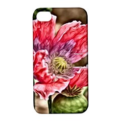 Dreamy Floral 5 Apple Iphone 4/4s Hardshell Case With Stand by MoreColorsinLife