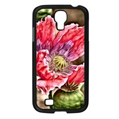 Dreamy Floral 5 Samsung Galaxy S4 I9500/ I9505 Case (black) by MoreColorsinLife