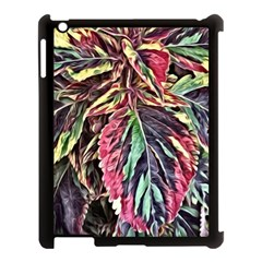 Dreamy Floral 7 Apple Ipad 3/4 Case (black) by MoreColorsinLife