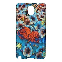 Dreamy Floral 3 Samsung Galaxy Note 3 N9005 Hardshell Case by MoreColorsinLife