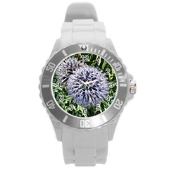 Dreamy Floral 6 Round Plastic Sport Watch (l) by MoreColorsinLife