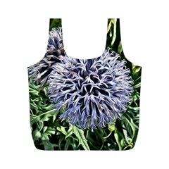 Dreamy Floral 6 Full Print Recycle Bags (m)  by MoreColorsinLife