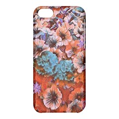 Dreamy Floral 4 Apple Iphone 5c Hardshell Case by MoreColorsinLife