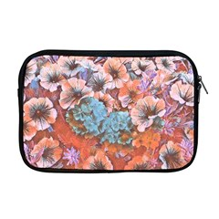 Dreamy Floral 4 Apple Macbook Pro 17  Zipper Case by MoreColorsinLife