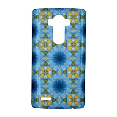 Blue Nice Daisy Flower Ang Yellow Squares Lg G4 Hardshell Case by MaryIllustrations