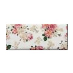 Pink And White Flowers  Cosmetic Storage Cases by MaryIllustrations